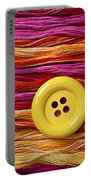 Big Yellow Button  Portable Battery Charger