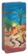 Bikutsi Dance 2 From Cameroon Portable Battery Charger