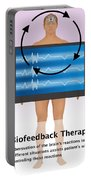 Biofeedback Therapy Portable Battery Charger