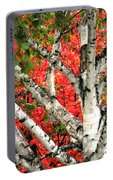 Birch Eclipsing Maple Portable Battery Charger