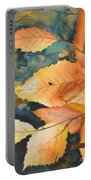 Birch Leaves Portable Battery Charger