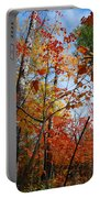 Birch Maple Autumn Portable Battery Charger