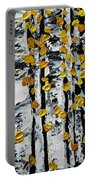 Birch Study Fall Portable Battery Charger