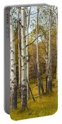 Birch Tree Grove No. 0126 Portable Battery Charger
