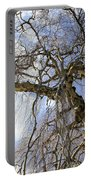 Birch Tree  Portable Battery Charger