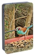 Bird And Feeder Portable Battery Charger