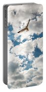 Bird And The Clouds Portable Battery Charger