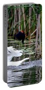 Bird Attack Portable Battery Charger