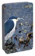 Bird - Black Crowned Night Heron Portable Battery Charger
