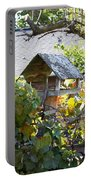 Bird Feeder Amongest The Grapevines Portable Battery Charger