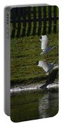 Bird Fight Portable Battery Charger
