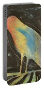 Bird In Gilded Frame Sans Frame Portable Battery Charger