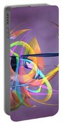 Bird-of-paradise - Abstract Portable Battery Charger
