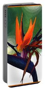 Bird Of Paradise Flower Fragrance Portable Battery Charger