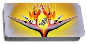Bird Of Paradise Portable Battery Charger