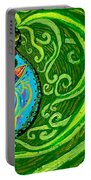 Bird Song Swirl Portable Battery Charger