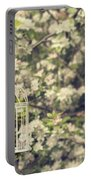 Birdcage In Blossom Portable Battery Charger