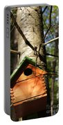 Birdhouse By Line Gagne Portable Battery Charger