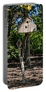 Birdhouses In The Trees Portable Battery Charger