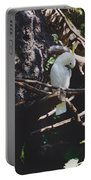 Birdie Sitting In The Tree Portable Battery Charger