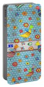 Birds And Flowers For Children Portable Battery Charger