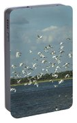 Birds In Flight Portable Battery Charger