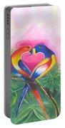 Birds In Love 02 Portable Battery Charger