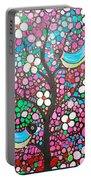 Birds In The Summer Breeze Portable Battery Charger