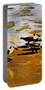 Birds In The Surf Portable Battery Charger