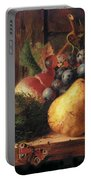 Birds Nest Butterfly And Fruit Portable Battery Charger