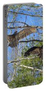 Birds Of A Feather Flock Together Portable Battery Charger