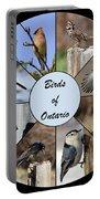 Birds Of Ontario Portable Battery Charger
