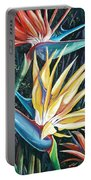 Birds Of Paradise  2   Sold Portable Battery Charger