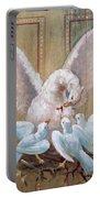 Birds Of Toledo Street Art Portable Battery Charger