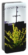Birds On A Wire In Cooper Young Portable Battery Charger