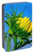 Birth Of A Sunflower By Kaye Menner Portable Battery Charger