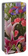 Birthday Bouquet Card Portable Battery Charger