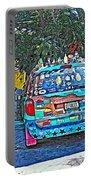 Bisbee Arizona Art Car Portable Battery Charger