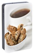 Biscotti And Coffee Portable Battery Charger