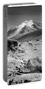 Bizarre Landscape Bolivia Black And White Select Focus Portable Battery Charger
