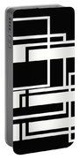 Black And White Art - 151 Portable Battery Charger