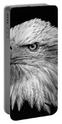 Black And White Eagle Portable Battery Charger