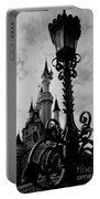 Black And White Fairy Tale Portable Battery Charger