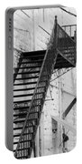 Black And White Fire Escape Usa Near Infrared Portable Battery Charger