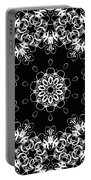 Black And White Medallion 1 Portable Battery Charger