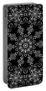 Black And White Medallion 11 Portable Battery Charger