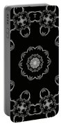 Black And White Medallion 3 Portable Battery Charger