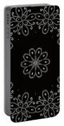 Black And White Medallion 4 Portable Battery Charger