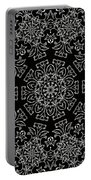 Black And White Medallion 7 Portable Battery Charger