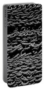 Black And White Rope Stack Portable Battery Charger
